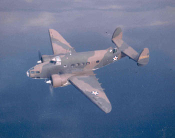 Lockhead Hudson A-29 Patrol Bomber used by the Army Air Corps for Coastal Patrols